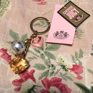 NWT new juicy couture keychain from Nordstrom
